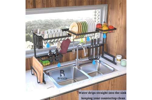 Kitchen Counter Organizer Drainer