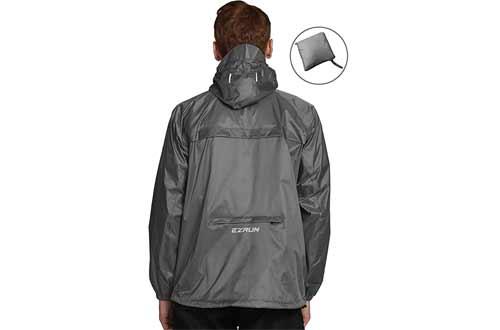 Men's Waterproof Hooded Rain Jacket