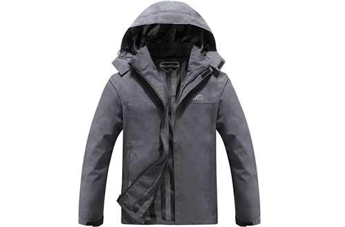 Waterproof Hooded Rain Jacket