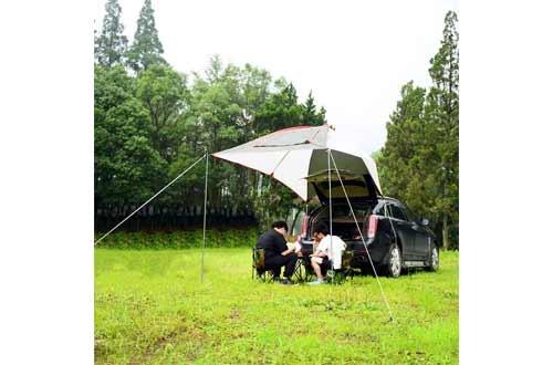 Car Tail Tent Awning Sun Shelter Trailer Tent